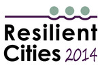 """Resilient Cities 2014 - Annual Global Forum on Urban Resilience and Adaptation"" will be taking place from 29 to 31 May 2014 in Bonn, Germany."