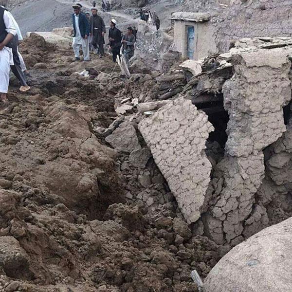 Afghan mudslides